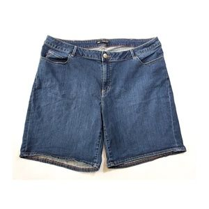 LEE Curvy Fit Modern Series Jean Shorts